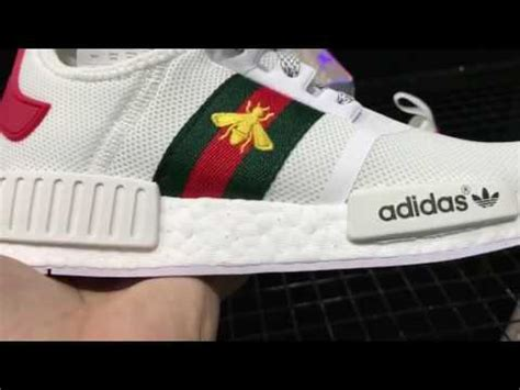 Harga Gucci Embroidered Sneakers gucci nmd white adidas gucci x nmd r1 boost lenaleestore