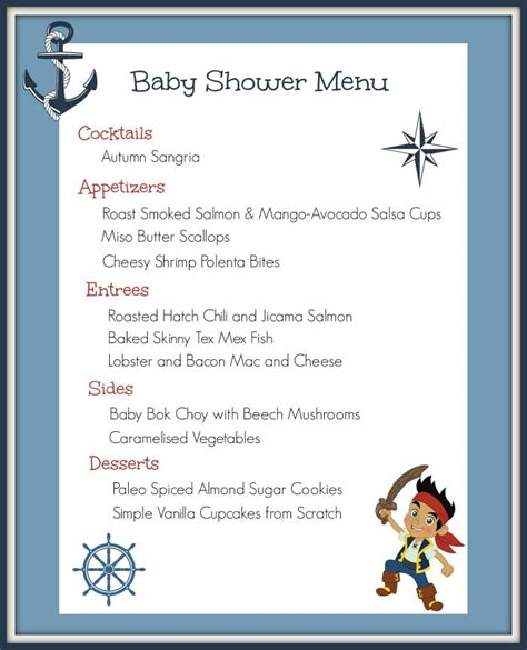 Baby Shower Dinner Menu by Roasted Hatch Chili Jicima Salmon
