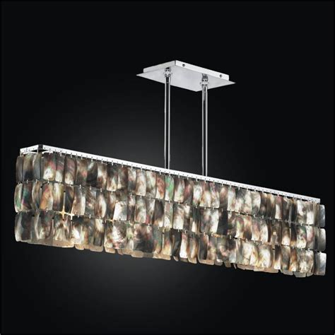 crystal chandelier night lights linear chandelier mother of pearl light fixture 622