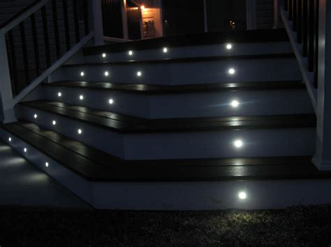 Patio Step Lights Led Light Design Led Deck Light Low Voltage Home Depot Deck Lighting Led Deck Lights Kits