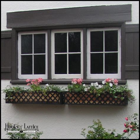 Metal Window Planter by Metal Window Boxes Iron Window Boxes Metal Flower Boxes