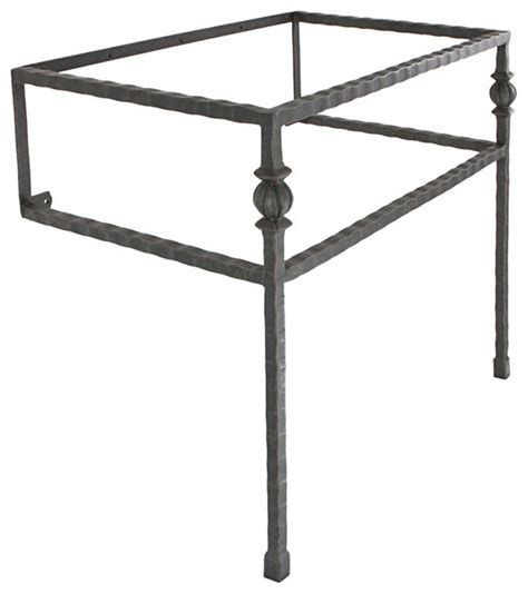Iron Vanity Base by Iron Vanity Bases Transitional Bathroom Vanities And