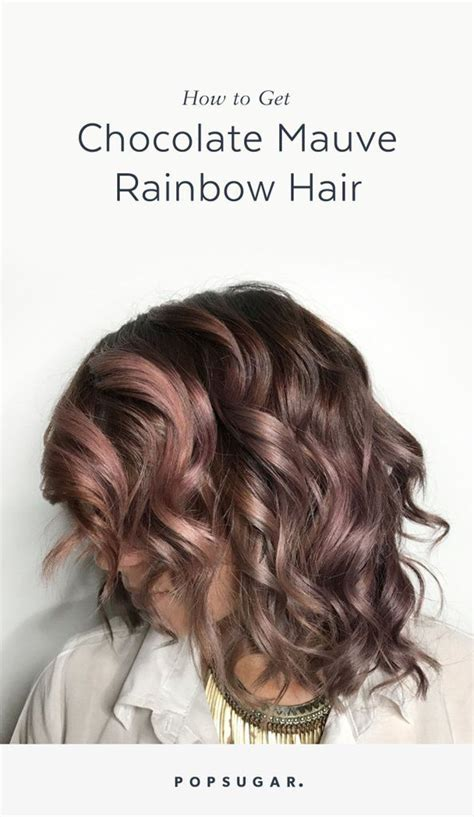 work appropriate hair color chocolate mauve is the delicious new color trend you