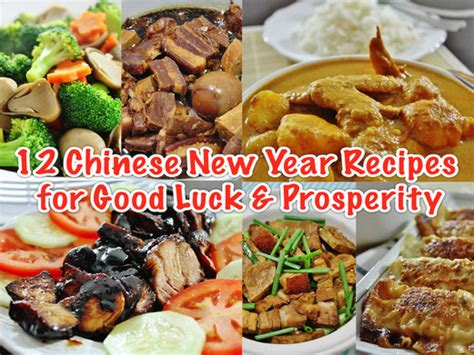 new year southern china food 12 easy new year recipes for luck