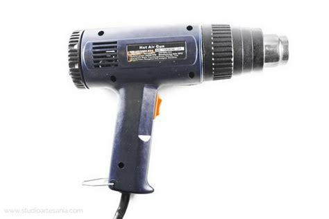 Can You Use Hair Dryer As Heat Gun how to cure liquid polymer clay with a heat gun studio artesania