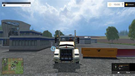 kenworth  plow truck csi  mod farming simulator   mod