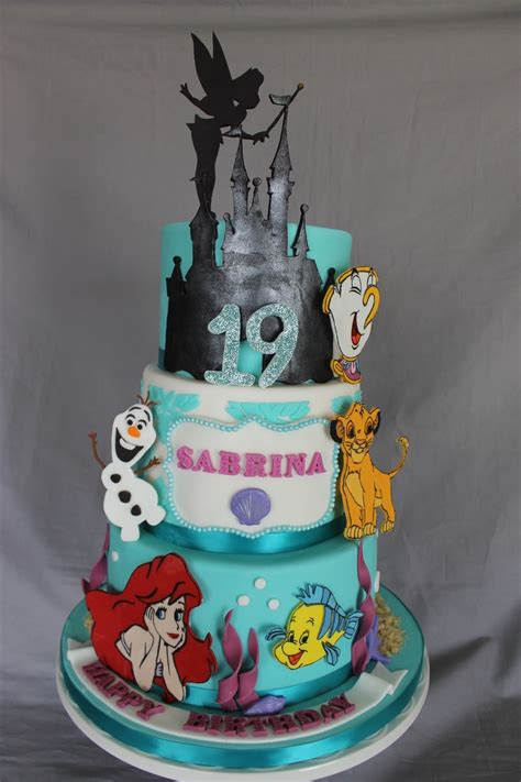 themed birthday cakes disney themed birthday cake cakecentral