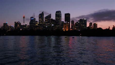 aerial australia sydney april  night mm  inspire