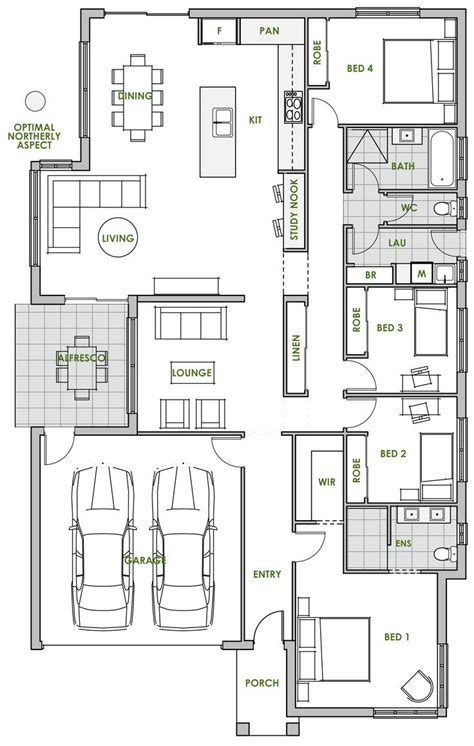 efficiency home plans high efficient ranch garage