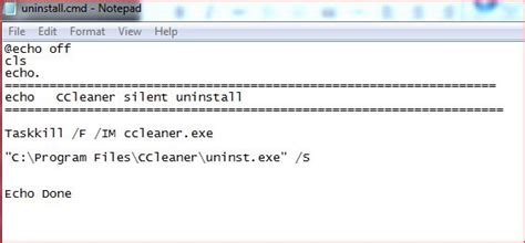 Ccleaner Quiet Uninstall | ccleaner silent install msi and exe version command line
