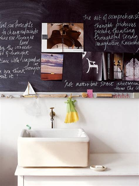 unconventional bathroom themes 21 unconventional chalkboard bathroom d 233 cor ideas digsdigs