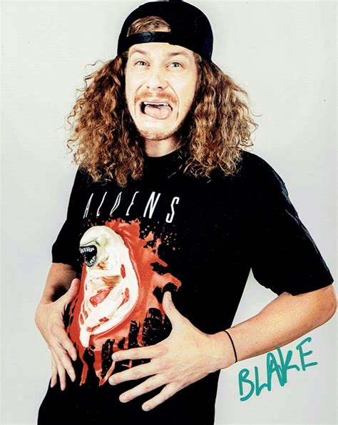 blake anderson blake anderson workaholics autograph signed 8x10 photo f