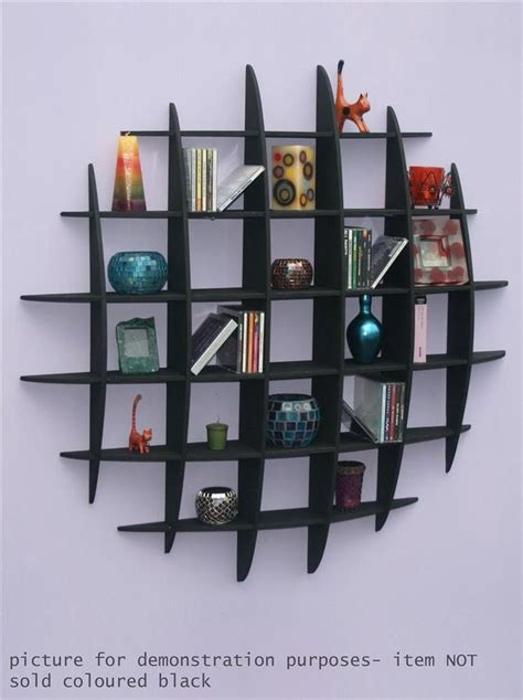 details about dvd cd storage rack wall mounted unit