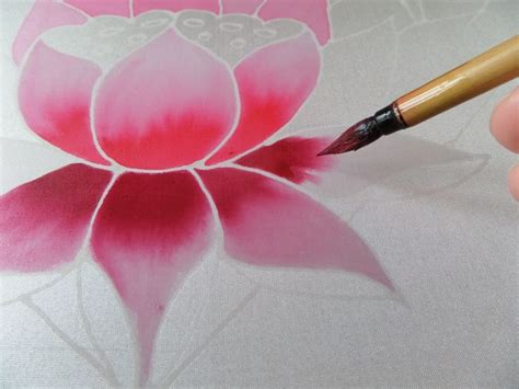 watercolor lotus tutorial best 20 silk painting ideas on pinterest