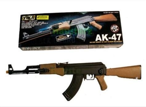 Airsoft Gun Crisis Real Scale Ak 47 1 bb guns ak47 bb assault rifle with hop up system laser sight torch was sold for r80 00 on