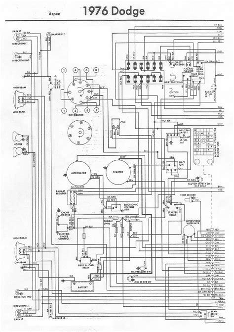 auto wiring diagram  dodge aspen engine compartment wiring diagram