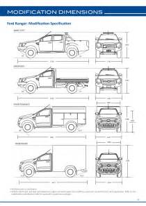 ford ranger bed dimensions ford ranger dimensions car pictures