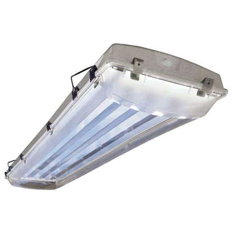 vapor proof light fixture 6 light vapor proof high bay fluorescent light fixture
