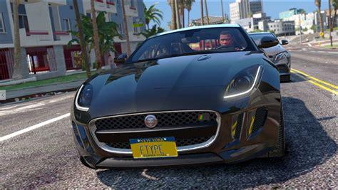 Gta 5 Jaguar F Type Jaguar F Type R Svr Replace Gta5 Mods