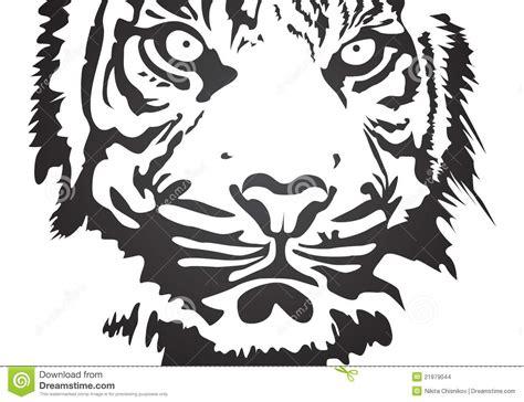 Hello Kitty Wall Mural tigre di vettore immagini stock immagine 21979044