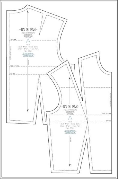 free pattern drafting instructions 17 best images about basic bodice block on pinterest