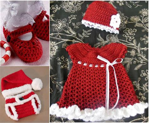 christmas gift set free crochet crochet baby clothes