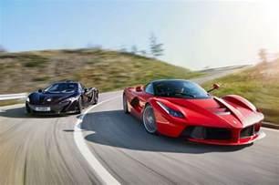 Mclaren Vs Hybrid Is The New Fast Laferrari Vs Mclaren P1