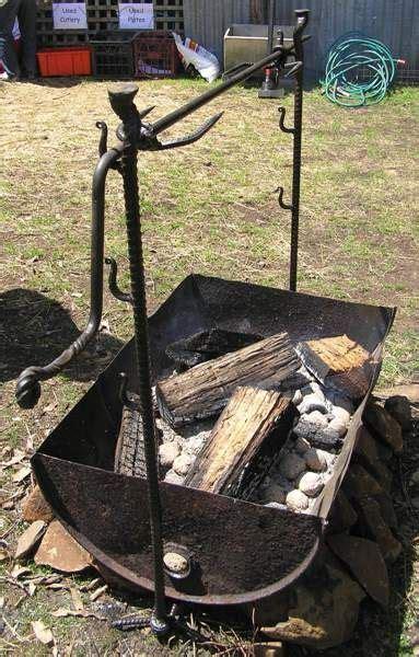 backyard blacksmithing artist blacksmith tasmania growling anvil deloraine