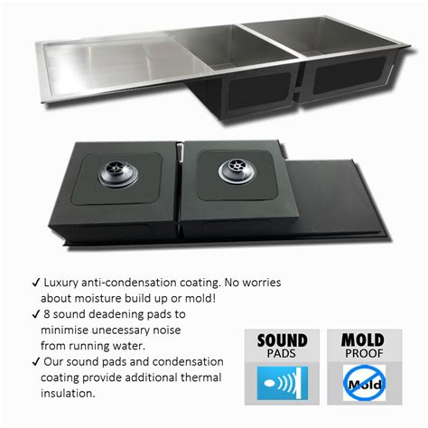 Square Kitchen Sink With Drainer by Sink Stainless Steel 1 5 Square Kitchen