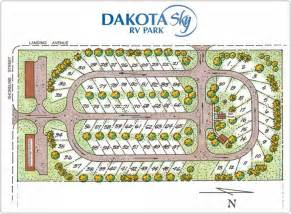 layout and wiring diagram for rv park and cground 52