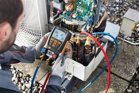 no air testo refrigeration manifolds testo ltd test and measurement