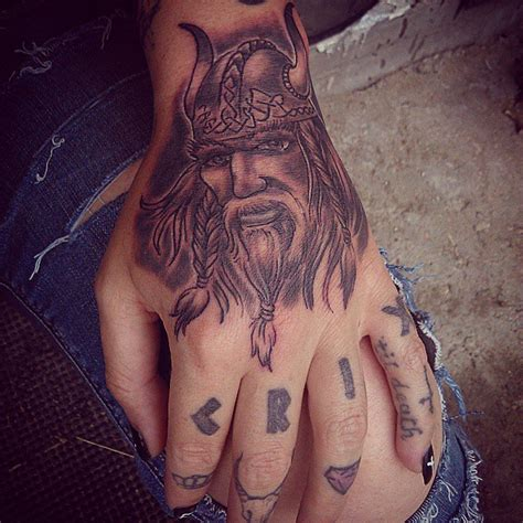 finger tattoo viking 34 awesome viking tattoos