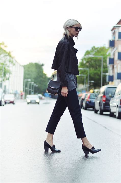 how to wear a loafer heels and loafers on