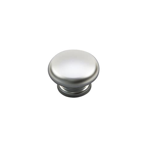 sylvan topnob cabinet knob satin chrome plate bunnings