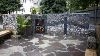 mur et cl 244 ture gabion id 233 es pour le jardin en 33 photos