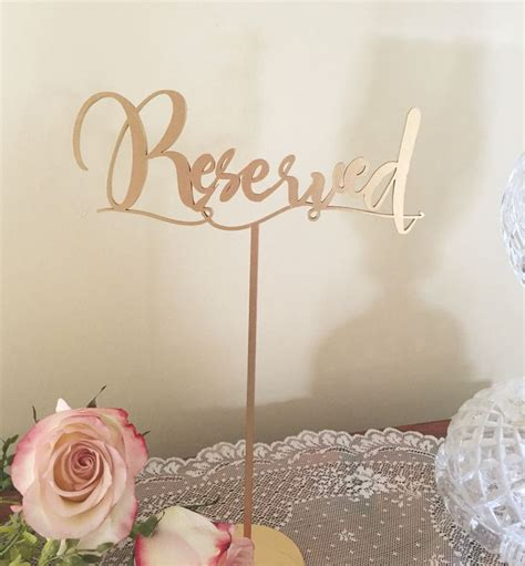 reserved signs for wedding tables printable reserved table signs for wedding brokeasshome com