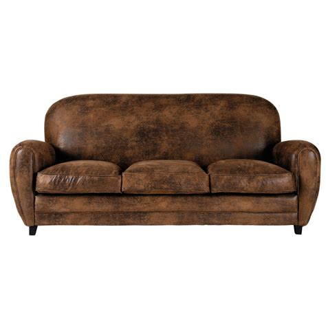divano in microfibra divano marrone in microfibra 3 posti arizona maisons du