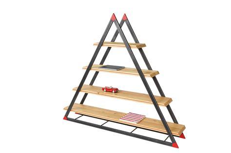 regal dreieck noon dreieck b 252 cherregal dozen design bei pamono kaufen