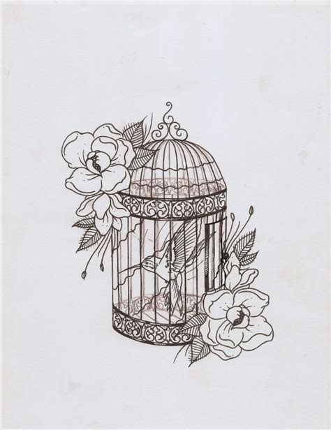 bird cage tattoo designs bird cage tattoos other designs bird