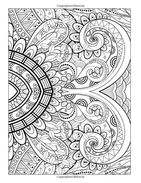 Printable Detailed Pattern Coloring Pages by A Coloring Page From Quot Detailed Designs And Beautiful