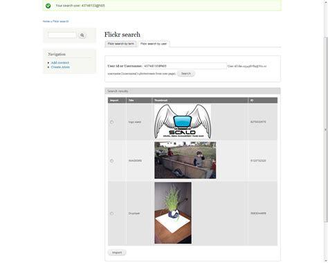 Flickr Search Scald Flickr Drupal Org