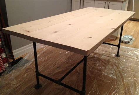 build pipe legs   table liking