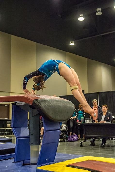 gymnastic swing breaking up the vault monotony during season swing big