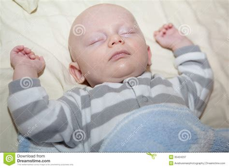 Arms Rest Co Sleeper by Baby Sleeping Royalty Free Stock Photography Image 35424237