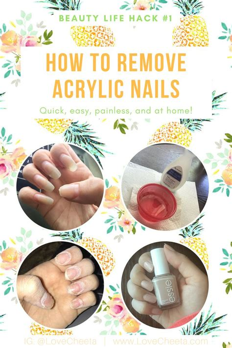 25 best ideas about remove acrylics on remove