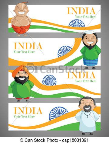 doodle for india unity in diversity 統一 多様性 ベクトル イラスト indian csp18031391のepsベクター