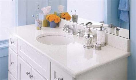 White Quartz Vanity Countertops Bay Area at Marble City