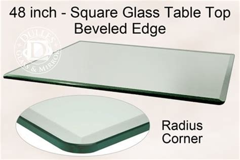 48 square glass table top discount 48 inch square glass table top 1 2 inch