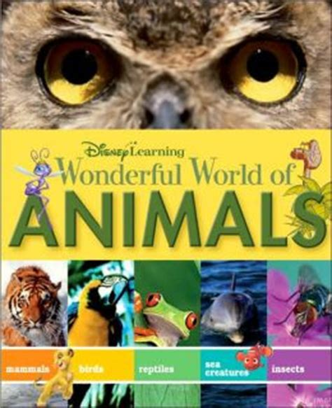 the wonderful world of tiny creatures learning nature volume 1 books disney learning wonderful world of animals by disney book