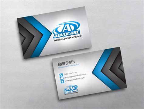 free advocare business card template advocare business card 15